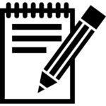 escrita-com-um-lapis-em-uma-folha-de-caderno-primavera_318-38334